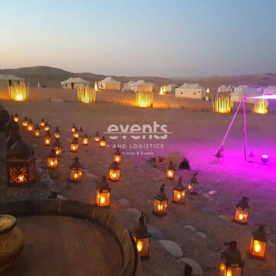Nuit en bivouac de luxe au désert