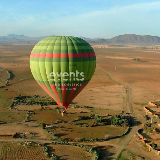 Vol En Montgolfiere Au-Dessus De Marrakech