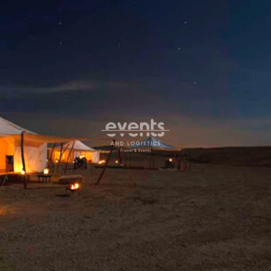 Dîner au désert d'Agafay et balade en dromadaire