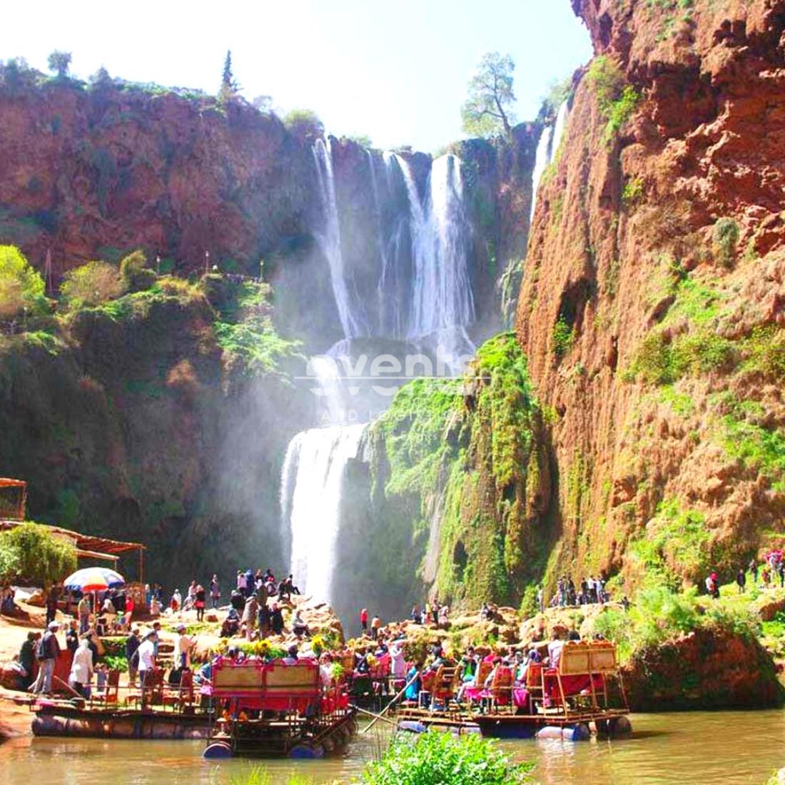 Cascades Ouzoud au départ de Marrakech