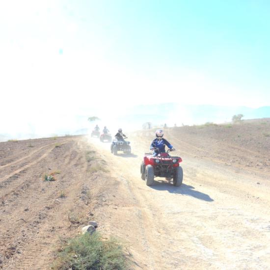 Aventure Quad au désert d'Agafay | En privé