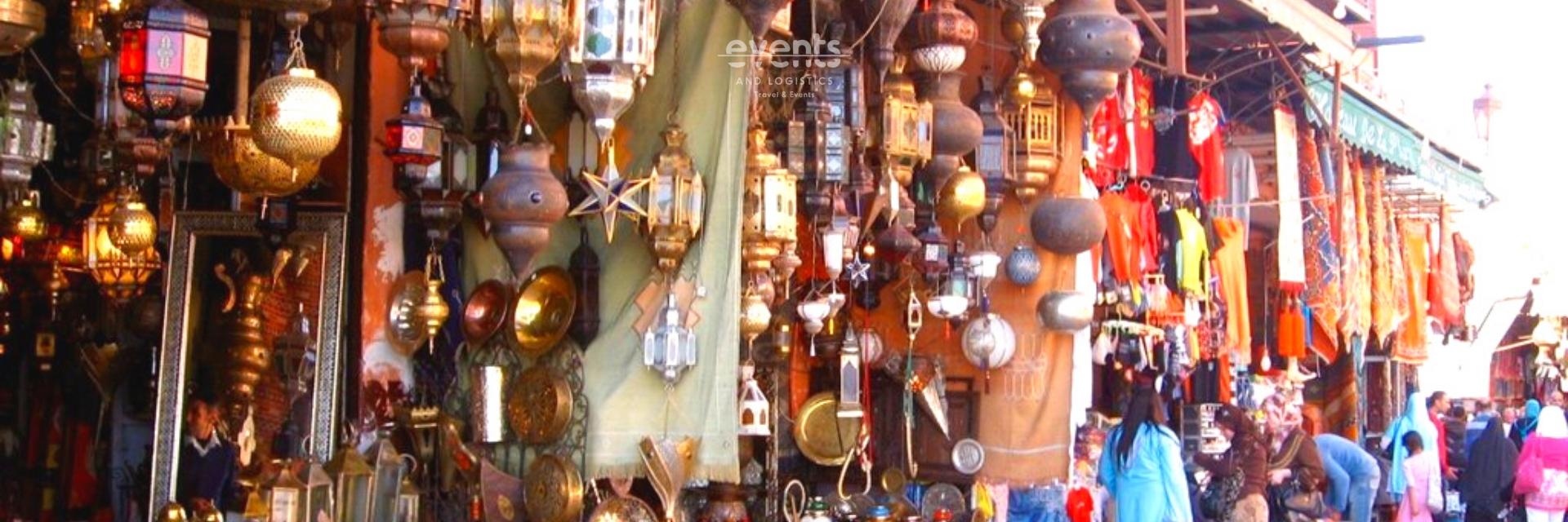 Sortie shopping dans la médina de Marrakech