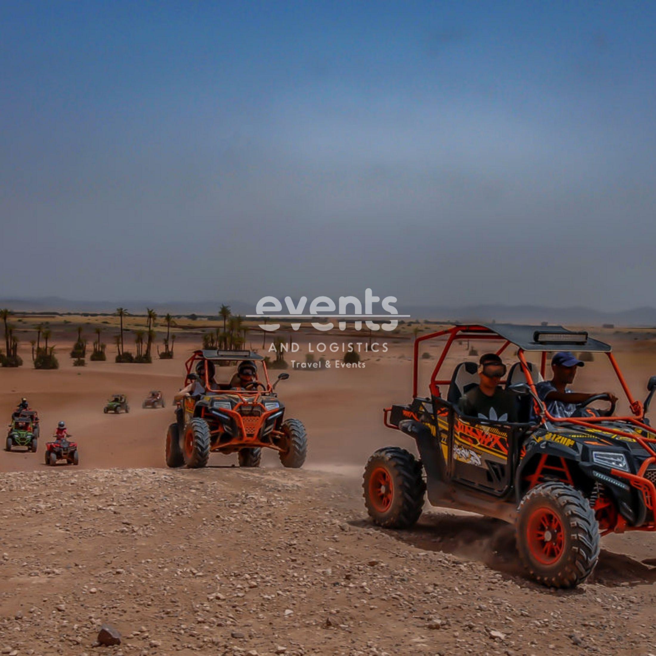 Expérience Quad-Buggy dans la palmeraie de Marrakech