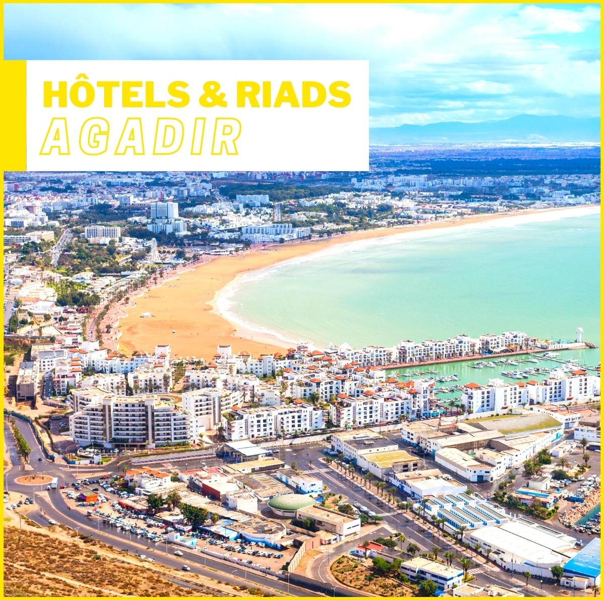 Hôtels et Riads à Agadir