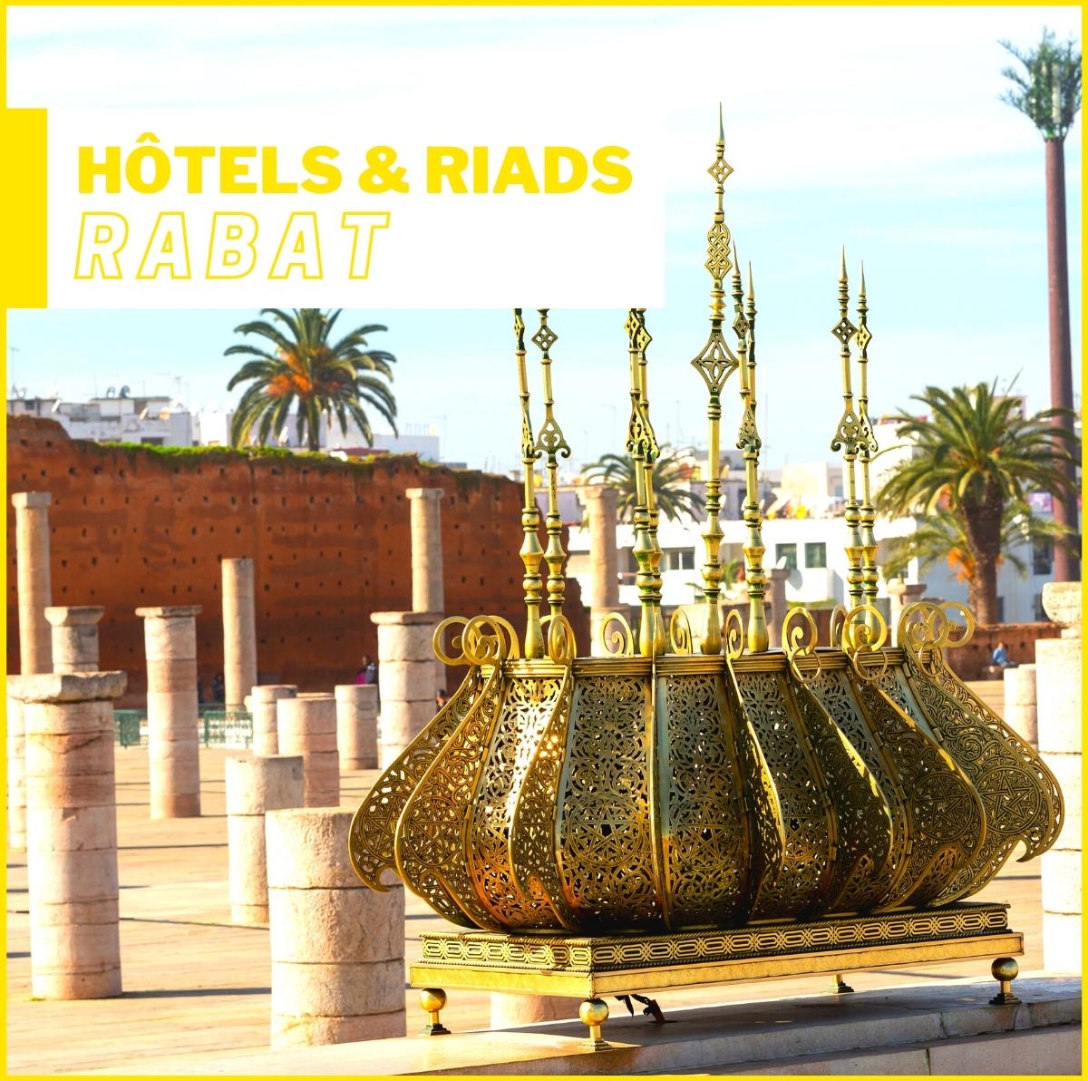 Hôtels et Riads à Rabat